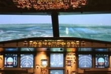 Cockpit - A320 Airbus Flight Simulator
